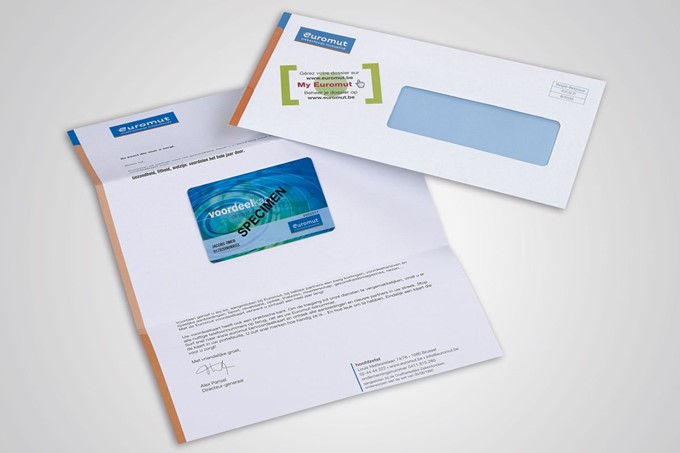 Euromut card mailing