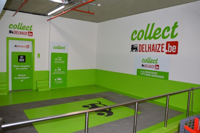 Collect Delhaize
