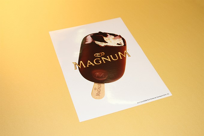 Commerciële sticker - Magnum