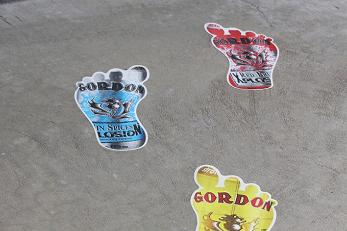 Vloersticker - Gordon
