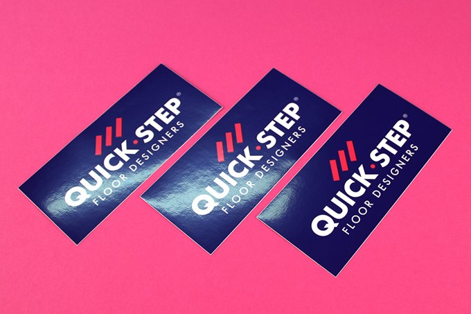 Merksticker - Quick Step